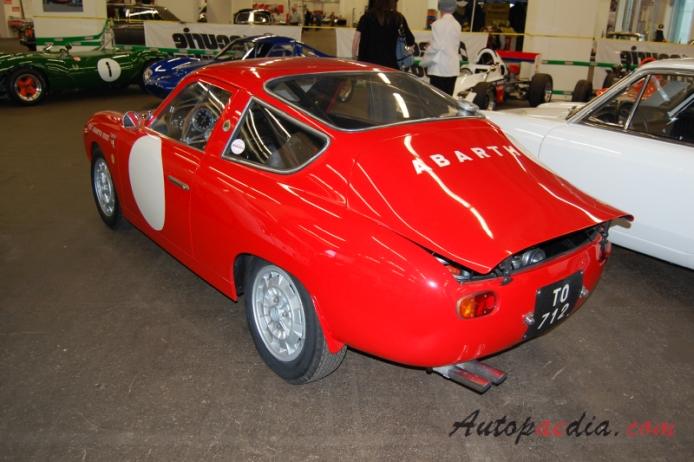 Fiat Abarth 1000 Bialbero 1961 1964 1962 Left Rear View