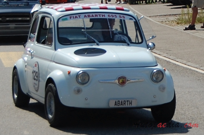 Fiat Abarth 695 1964 1969 1967 Ss Right Front View
