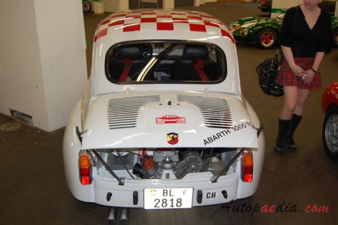 Fiat Abarth 1000 Tc Berlina Corsa 1965 1967 1967 Rear