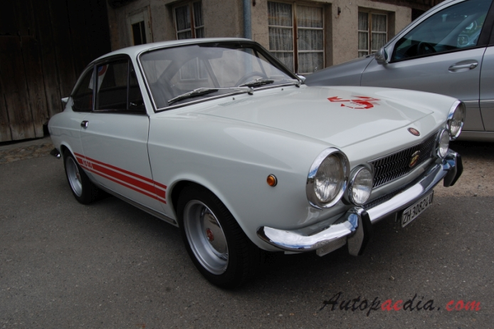 Fiat Abarth 1300 124 Ot Coup 233 1966 1970 1968 1970 2nd