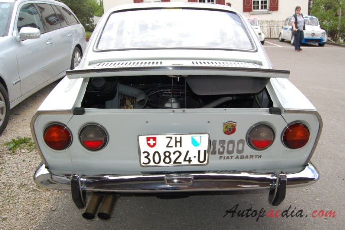 Photo Collection Fiat 850 Abarth 1300