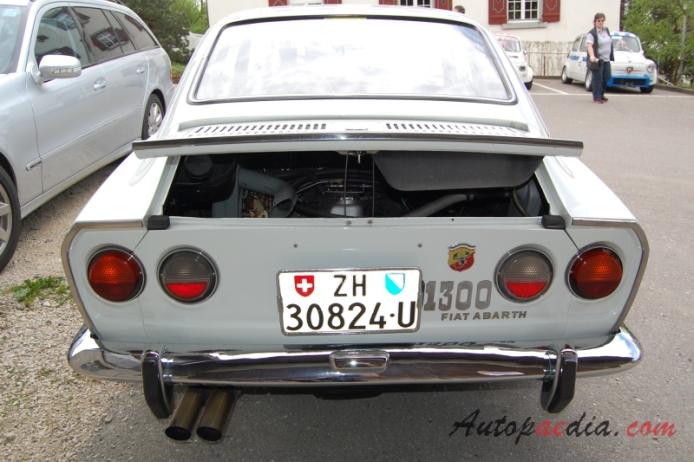 Fiat Abarth 1300 124 Ot Coup 233 1966 1970 1968 1970 2nd