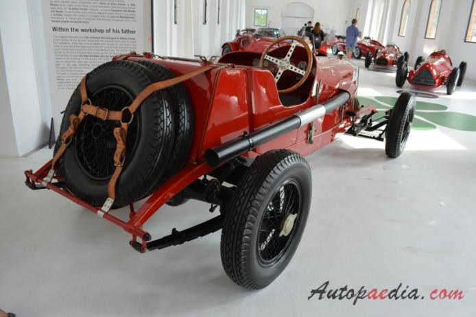 Alfa Romeo Rl 1922 1927 1924 Targa Florio Roadster Right Rear