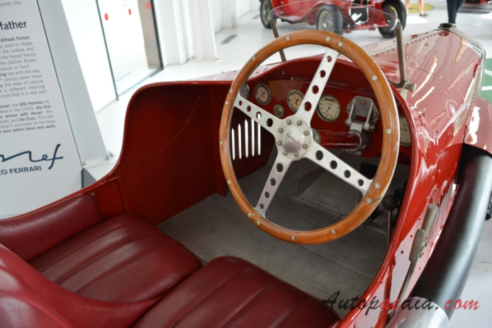 Alfa Romeo Rl 1922 1927 1924 Targa Florio Roadster Interior
