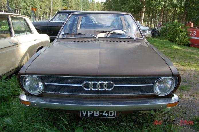 Audi 80 B1 1972 1978 1972 1976 80s Sedan 2d Front View