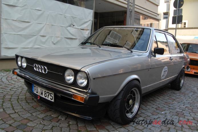 Audi 80 B1 1972 1978 1975 Sedan 2d Left Front View