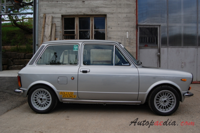 Autobianchi A112 3rd Series 1975 1977 1975 Abarth Right