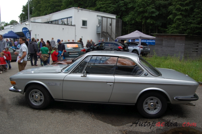 BMW E9 1968-1975 (1969 2800 CS), left side view, Autopaedia ...