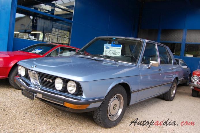 Bmw E12 1st Generation Series 5 1972 1981 1976 525 Sedan 4d