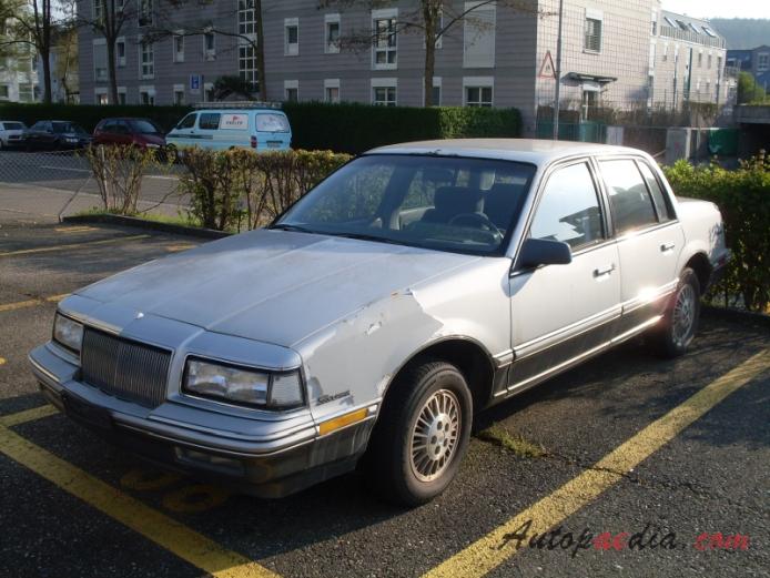 Buick Skylark 6th Generation 1986 1991 1989 1991 Sedan 4d Left