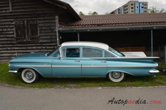 Chevrolet Bel Air 4th Generation 1958 1960 1959 Sedan 4d Left