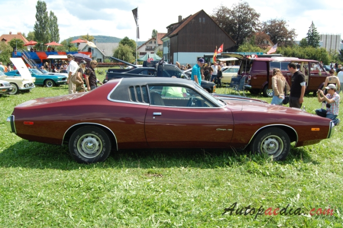 Dodge Charger B- 3rd generation 1971-1974 (1973 Charger SE ...