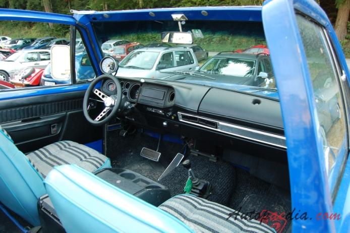 Dodge Ramcharger 1st generation 1974-1981 (1974-1976 SUV 2d), interior, Autopaedia ...