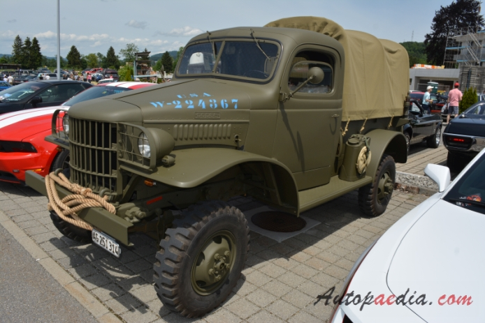 dodge wc series 1940 1945 (1941 wc 12 military truck), left frontOldtimer Picture Gallery Cars 1941 Dodge #21
