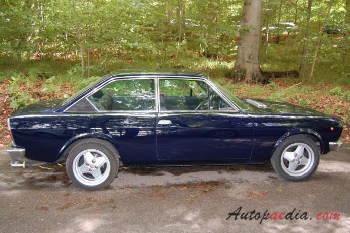Fiat 124 coup cc 1973 1975 abarth 1800 right side view autopaedia encyclopaedia of young - 1975 fiat 124 sport coupe ...