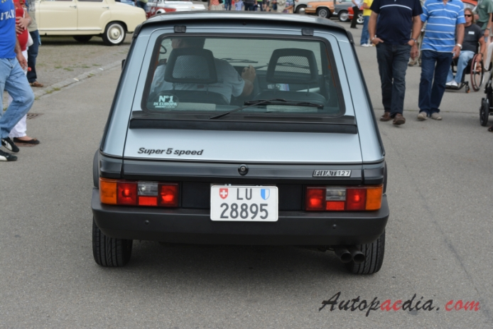 Fiat 127 3rd Series 1982 1983 5 Speed Special Hatchback