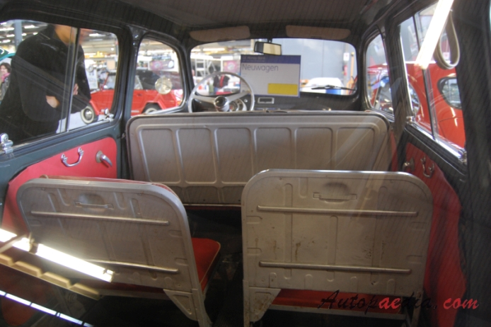 fiat 600 multipla 1956 1969 1963 767cc interior autopaedia encyclopaedia of young and. Black Bedroom Furniture Sets. Home Design Ideas