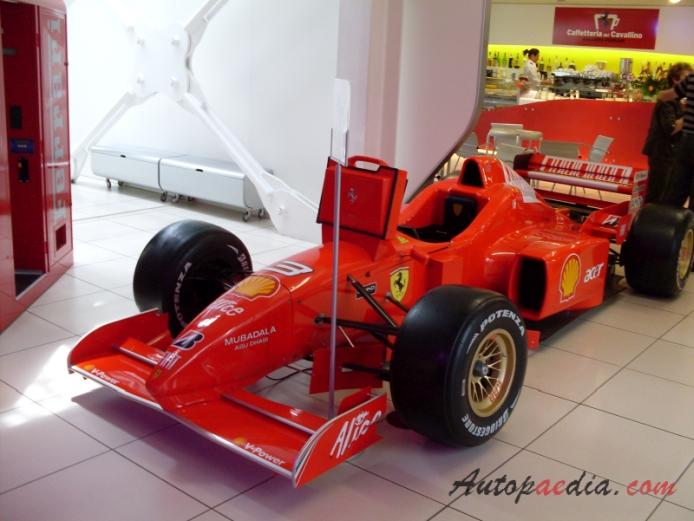 Ferrari F1 1996 F310 Monoposto Left Front View Autopaedia