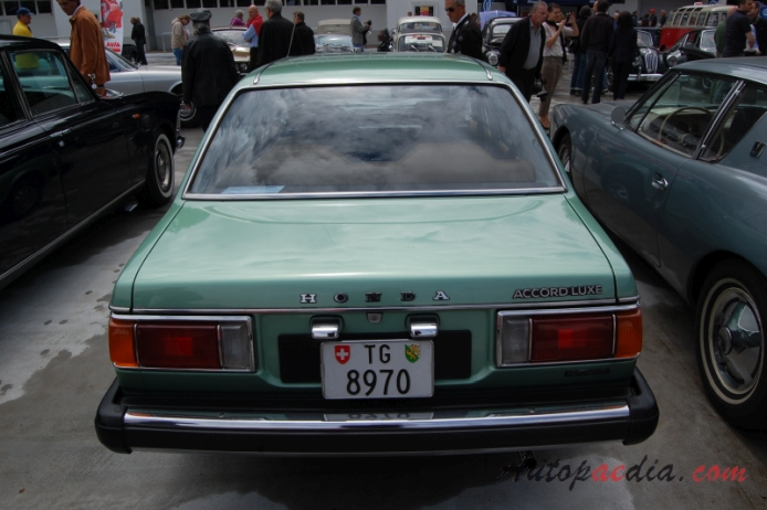 Honda Accord 1st generation (Series SJ-SM) 1976-1981 (1979 ...