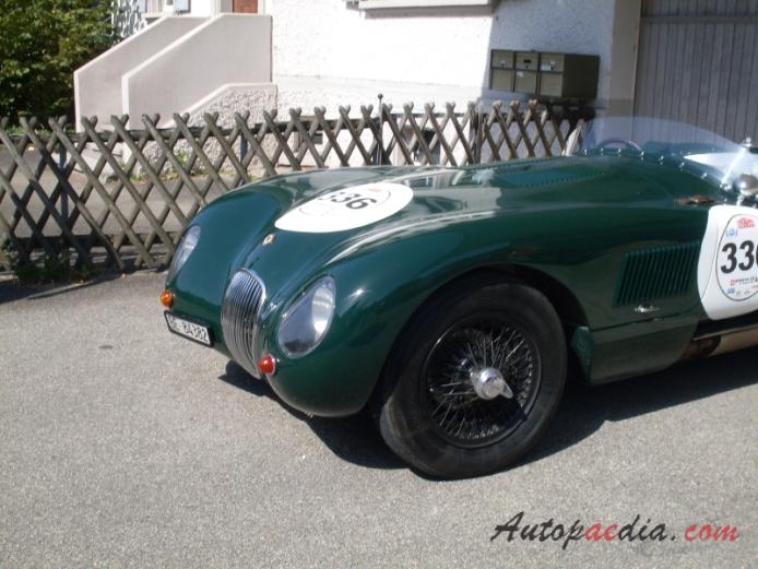 Jaguar C-Type (XK120-C) 1951-1953 (1952 Proteus replica