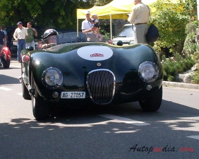 Jaguar C-Type (XK120-C) 1951-1953 (1963 Proteus replica