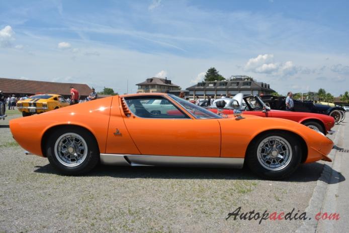 Lamborghini Miura 1966 1974 1966 1971 Right Side View Autopaedia