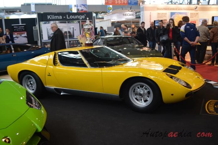 Lamborghini Miura 1966 1974 1972 Sv Right Side View Autopaedia