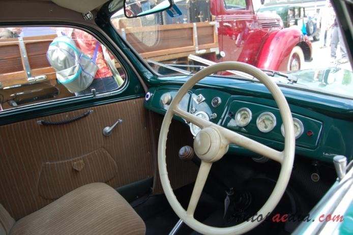 Lancia Ardea 1939-1953 (1950 4th series berlina 4d), interior ...