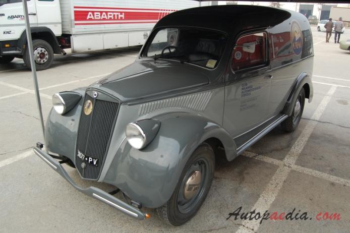 Lancia Ardea 1939-1953 (1951 4th series furgoncino 3d), left front ...
