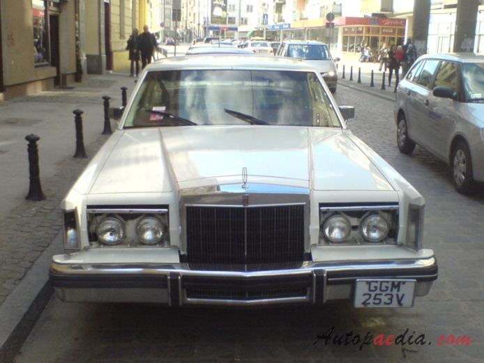 Lincoln Mark Series 7th generation 1980-1983 (Continental