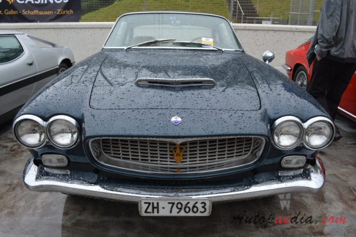 Maserati Sebring 1962 1969 1962 1965 Series I Coupe 2d Front View