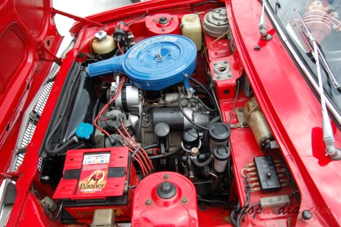 Mazda R100 1968-1973 (1970 Coupé Sport 2d), engine ...