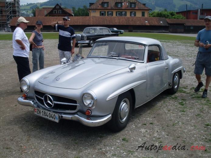 Mercedes benz r121 190sl 1955 1963 1955 1959 hardtop for 1955 mercedes benz 190sl