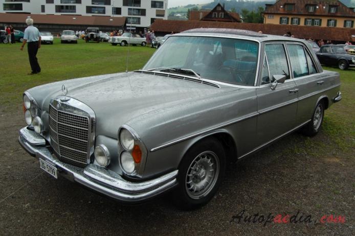 Mercedes benz w108 1965 1972 1971 280se sedan 4d left for 1969 mercedes benz parts