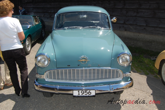1956 Opel Olympia - Information and photos - MOMENTcar