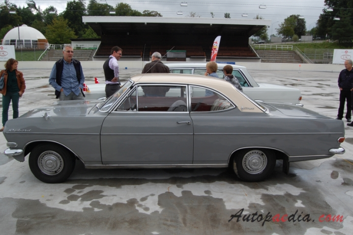 Image gallery opel rekord coupe 1964