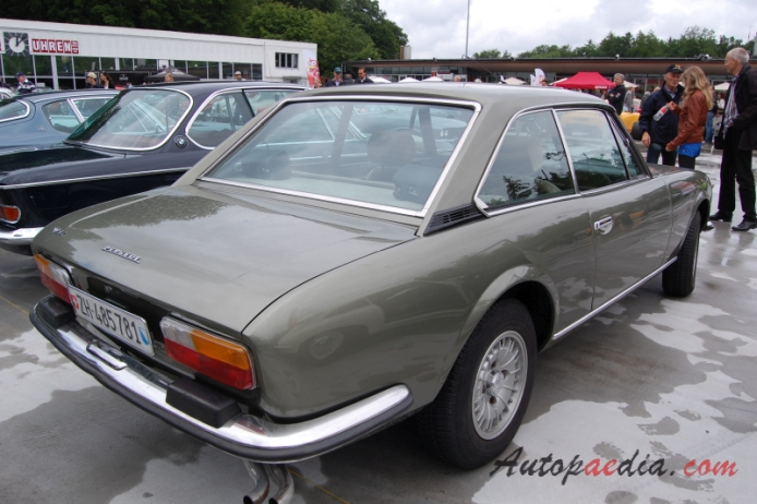 Peugeot 504 1968 1983 1976 1979 V6 Ti Coupe 2d Right Rear View