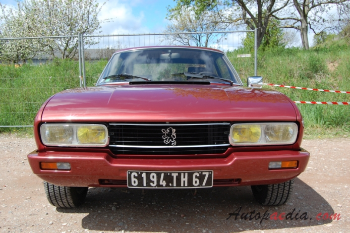 Peugeot 504 1968 1983 1979 1983 V6 Ti Coupe 2d Front View