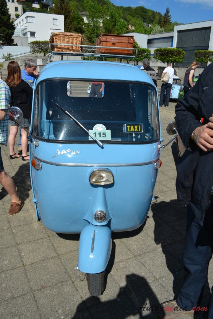 Piaggio Ape E 400 1965 1973 1967 Calessino Front View Autopaedia Encyclopaedia Of Young And Oldtimers
