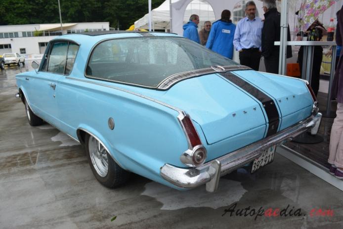 Plymouth Barracuda 1st generation 1964-1966 (1964-1965 V8 fastback