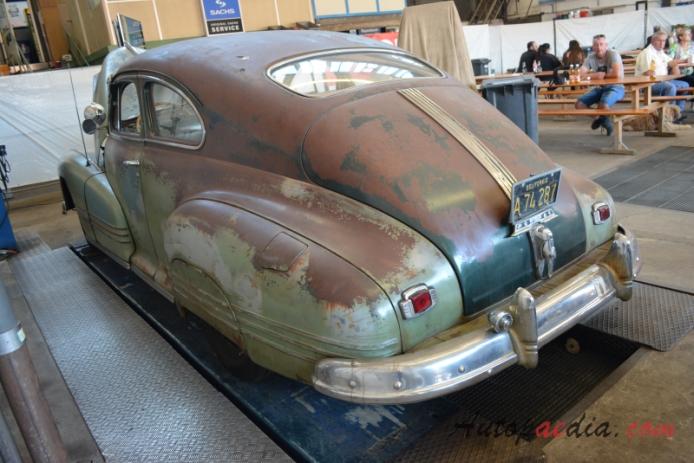 pontiac streamliner 1st generation 1942 1948 1947 coup 2d left 1943 Pontiac Coupe pontiac streamliner 1st generation 1942 1948 1947 coup 2d left rear view