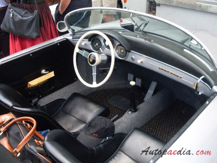 Porsche 356 1948 1965 1955 1958 356A 1600 Super Speedster Interior