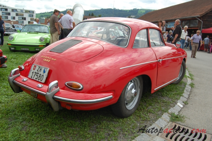 Porsche 356 1948 1965 1960 1600 Super Karmann Coup 233