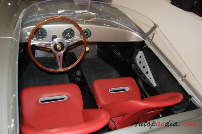 Porsche 356 Speedster Zagato 1957 Replica Interior