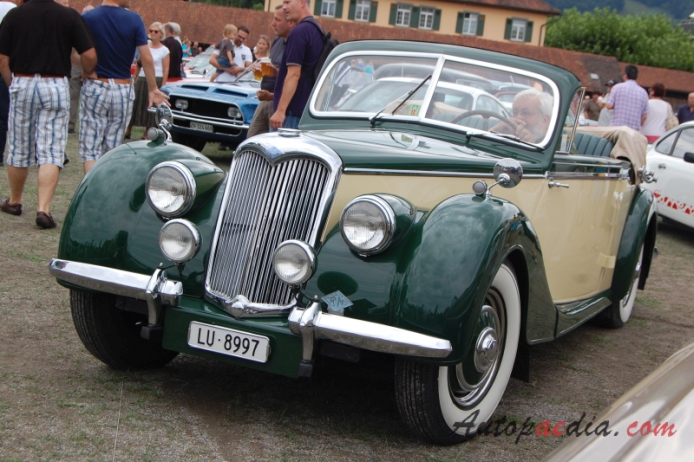 Riley RMD 1949 1951  1950 cabriolet 2d   01   AA2 on cabriolet car