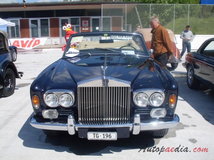 Rolls royce corniche 1971 1996 1972 corniche i convertible front