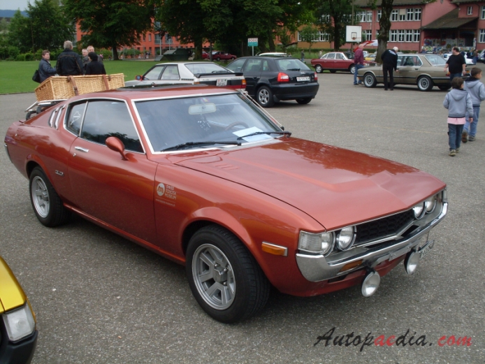 toyota celica 1st generation a20 a35 series 1970 1977 1977 ta28 st liftback 3d right front. Black Bedroom Furniture Sets. Home Design Ideas