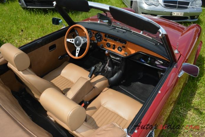 Triumph Spitfire Mark IV 19711980 interior Autopaedia
