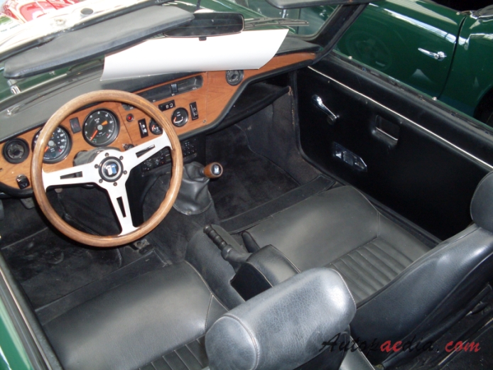 Triumph Spitfire Mark IV 19711980 1972 GT6 2000ccm interior