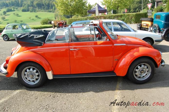 Vw Type 1 Beetle 1946 2003 1974 1303 Ls Karmann